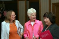 Christine Murphy-Whyte, Judy Caldwell and Mary Harney