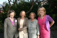 Deirdre & Christine with Frances Fitzgerald and Dympna Watson