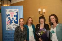 Marie Ennis, Christine Murphy-Whyte, Deirdre O'Connell and Dympna Watson
