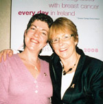Avon Breast Cancer Nurse Counsellors Pat Hargadon (right) and Fiona Moriarty